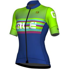 Alé Cycling R-EV1 Summer Short Sleeve Jersey Women blu light-fluo green